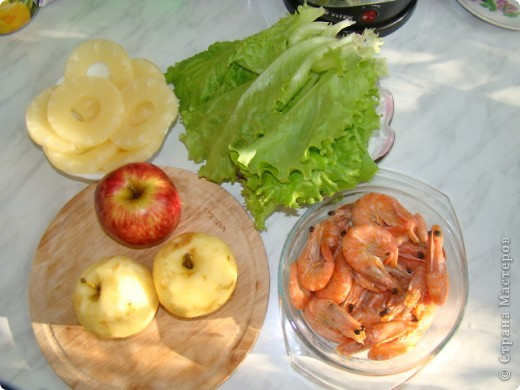 салат с креветками фото 2
