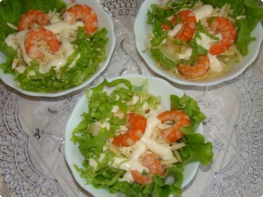 салат с креветками фото 1