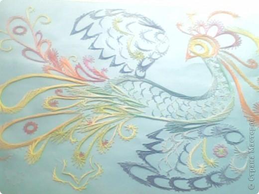 Вот такая птичка была создана для моей учительницы фото 1
