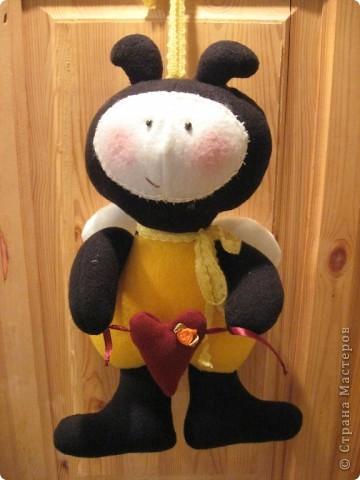 Здравствуйте, все-все-все!!! Сегодня я вас знакомлю со своим новым дружочком-это Пчёла!  Познакомьтесь!!! фото 1
