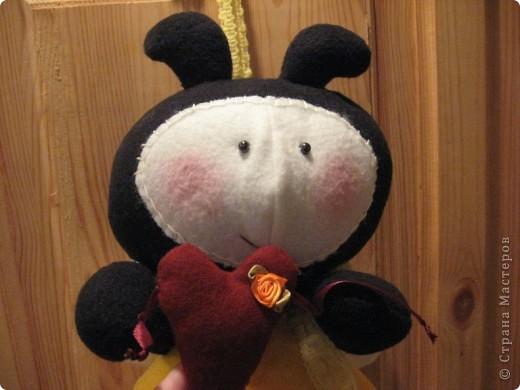 Здравствуйте, все-все-все!!! Сегодня я вас знакомлю со своим новым дружочком-это Пчёла!  Познакомьтесь!!! фото 3