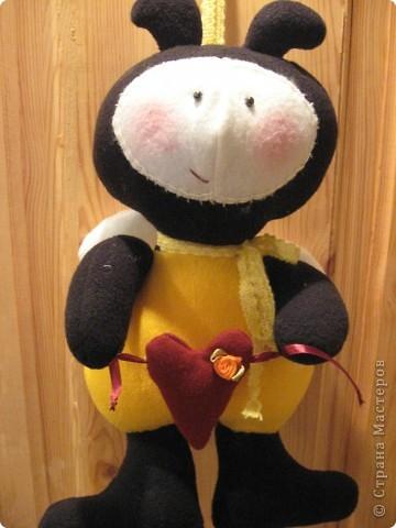 Здравствуйте, все-все-все!!! Сегодня я вас знакомлю со своим новым дружочком-это Пчёла!  Познакомьтесь!!! фото 4