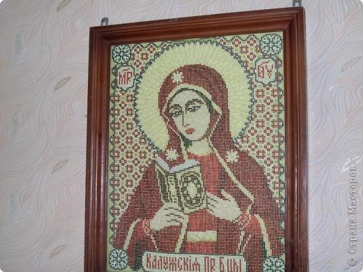 Икона  Калужская  богоматерь. фото 1
