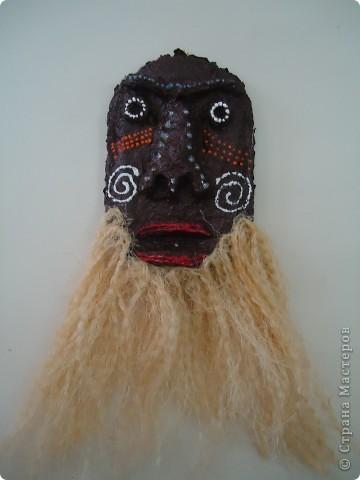 Африканская и индийская маски фото 3