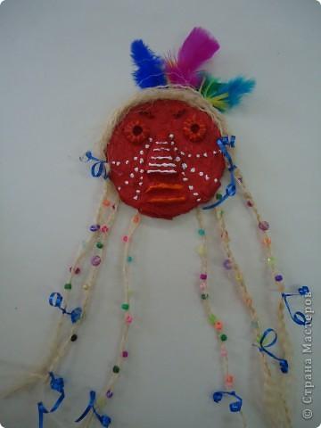 Африканская и индийская маски фото 2