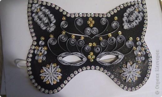Новогодняя маска фото своими руками