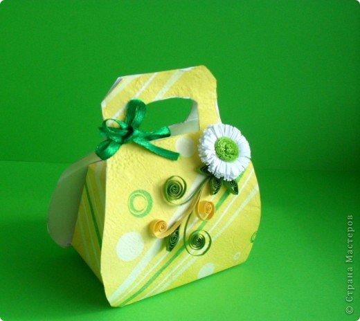 Такой летний комплект открытки с бонбоньеркой ко дню рождения сделать совсем несложно.   фото 4