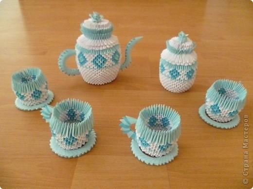 Ну вот наконец-то и у меня появился свои чайный сервиз фото 1
