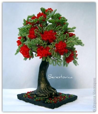 Напоследок решила сделать деревья с такими экзотическими названиями))  фото 3
