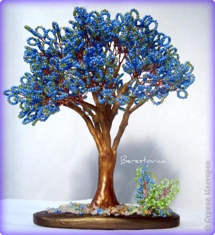 Напоследок решила сделать деревья с такими экзотическими названиями))  фото 5