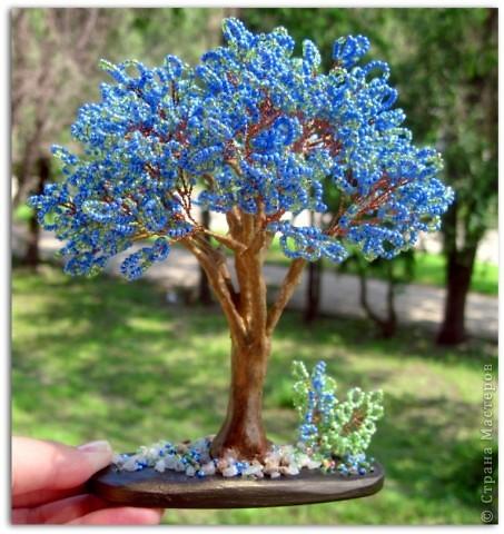 Напоследок решила сделать деревья с такими экзотическими названиями))  фото 6