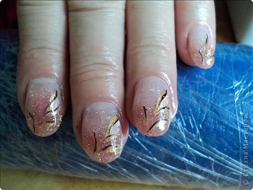 Хотелось показать новые работы с росписью ногтей. На ноготках сложнее рисовать из-за того, что площадь маленькая, особенно на натуральных. фото 5