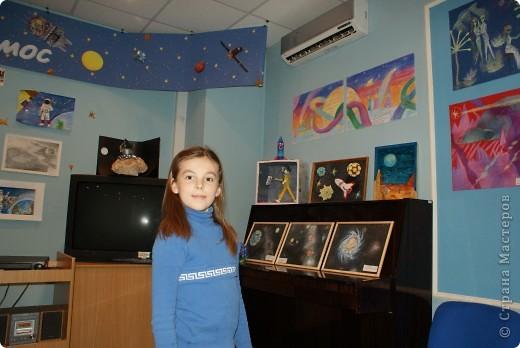 Продолжаем отчет о нашем космическом проекте. Начало здесь http://stranamasterov.ru/node/191800 Это - Земля в иллюминаторе ;) фото 16