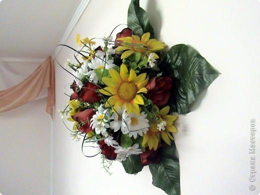 Композиции из кал, васильков, гербер, маков, роз..... фото 10