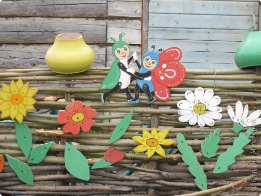 украшение детской площадки фото 3