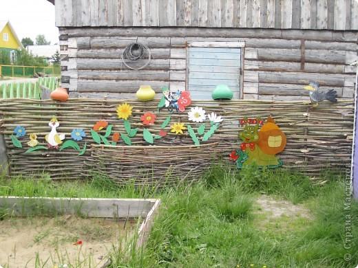 украшение детской площадки фото 1