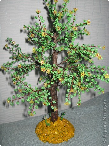 Мои деревья из бисера фото 1