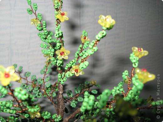 Мои деревья из бисера фото 2