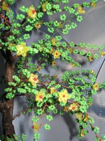 Мои деревья из бисера фото 3