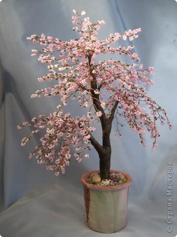 Мои деревья из бисера фото 8