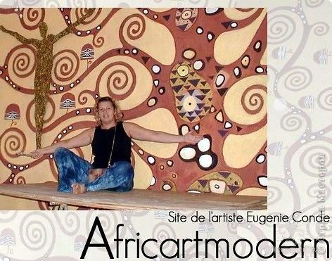 Русская художница и Африка