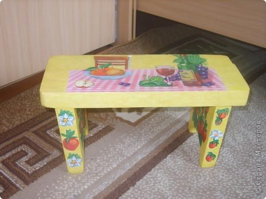 мои скамеечки фото 4
