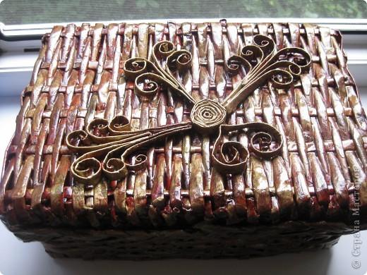коробочка для рукоделия фото 1
