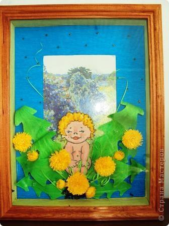 малышку рисовала акварелью, вырезала и клеила на объёмный двусторонний скотч. фото 2