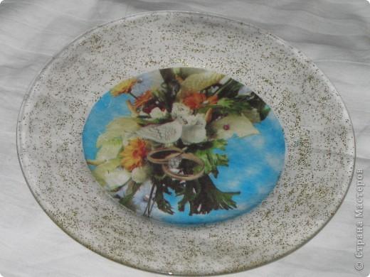 Моя первая тарелочка фото 1