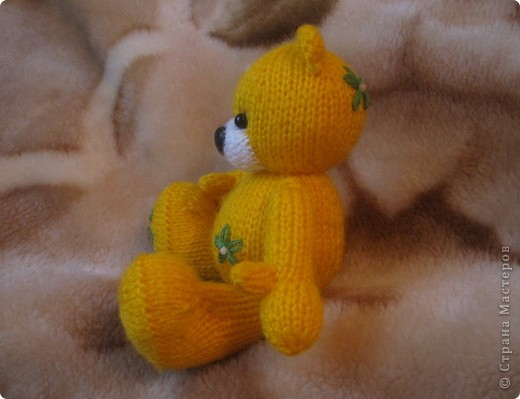Этот мишка, по описанию от TanyushkaS, был подарен одной хорошей девушке, которая влюбилась в него с первого взгляда. фото 6