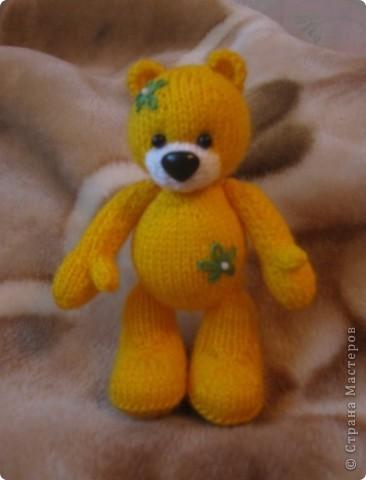 Этот мишка, по описанию от TanyushkaS, был подарен одной хорошей девушке, которая влюбилась в него с первого взгляда. фото 2