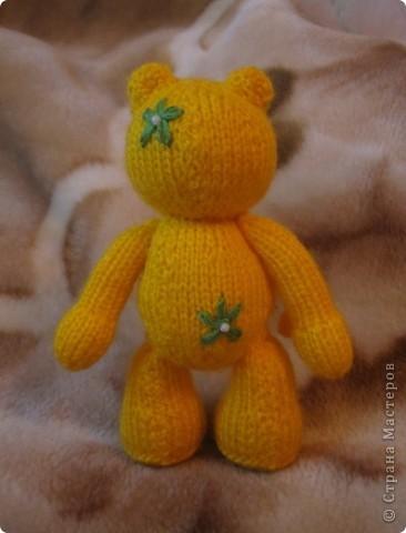 Этот мишка, по описанию от TanyushkaS, был подарен одной хорошей девушке, которая влюбилась в него с первого взгляда. фото 4