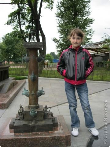 Здравствуйте! Мы с мамой ходили посмотреть мини питербург! Хотите посмотреть? Начнем с петропавловской крепости. Даже остров - черепашкой сделан! фото 3