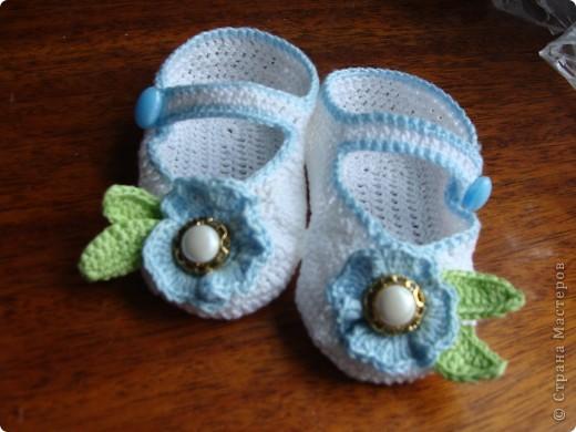 голубые туфельки фото 2