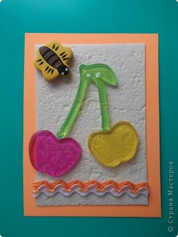 """""""Фруктовая желейка"""" Фрукты желейные. Их можно приспособить на холодильник, ввиде украшения. СЕРИЯ ЗАКРЫТА фото 6"""