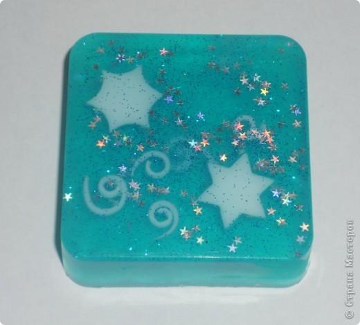 Звездное мыло с ароматом мяты и лайма фото 1
