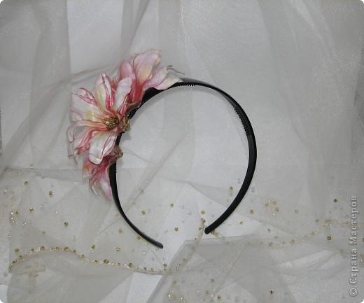 """Ободок """"Тропический цветок"""" фото 1"""