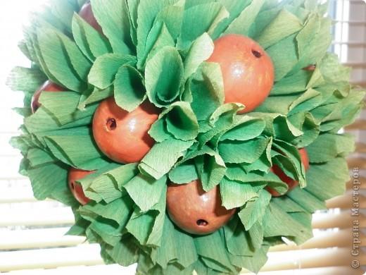 Вот такая яблонька у меня получилась-делала вот по этому МК http://stranamasterov.ru/node/138019 - спасибо мастеру огромное! фото 3