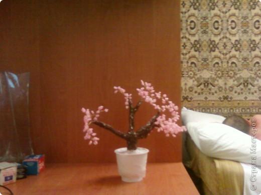 Очередное деревце из бисера