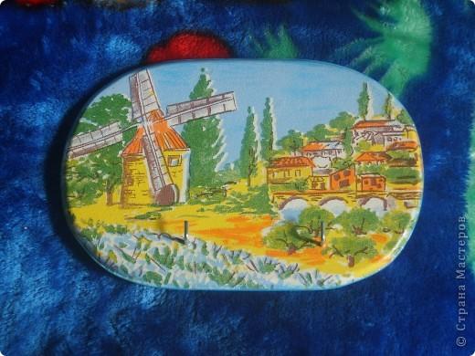 досочка делалась в подарок учительнице, использовала распечатку, дорисовка акварельными красками, лак фото 6