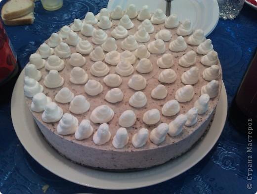 Tort tvorojnii s pechen'em oreo фото 1
