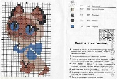 """Вышивка -""""Котенок ГАВ"""" фото 2"""