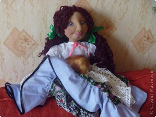 Это тоже кукла-пакетница. фото 3