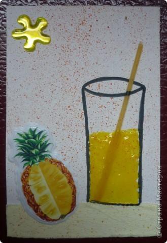 В жаркий день нам с мамой захотелось сока! Пришла идея о создание серии. фото 3