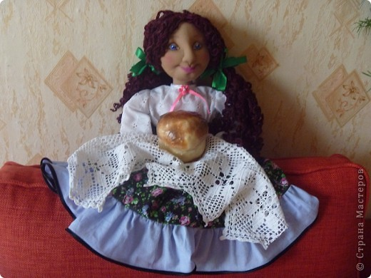 Это тоже кукла-пакетница. фото 1
