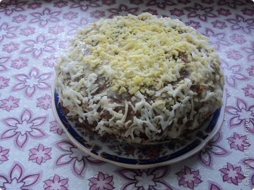 Это печеночный торт, на любителя конечно...но очень вкусно!!!!!!!!! фото 2