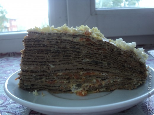 Это печеночный торт, на любителя конечно...но очень вкусно!!!!!!!!! фото 4