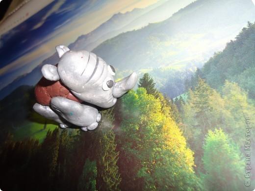 Носорог и панда фото 3
