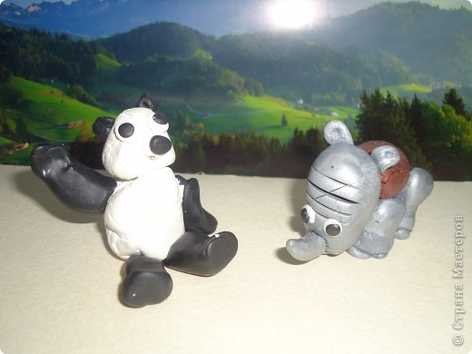 Носорог и панда фото 6