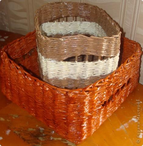 Такие сплелись плетеночки для хранения овощей. фото 1